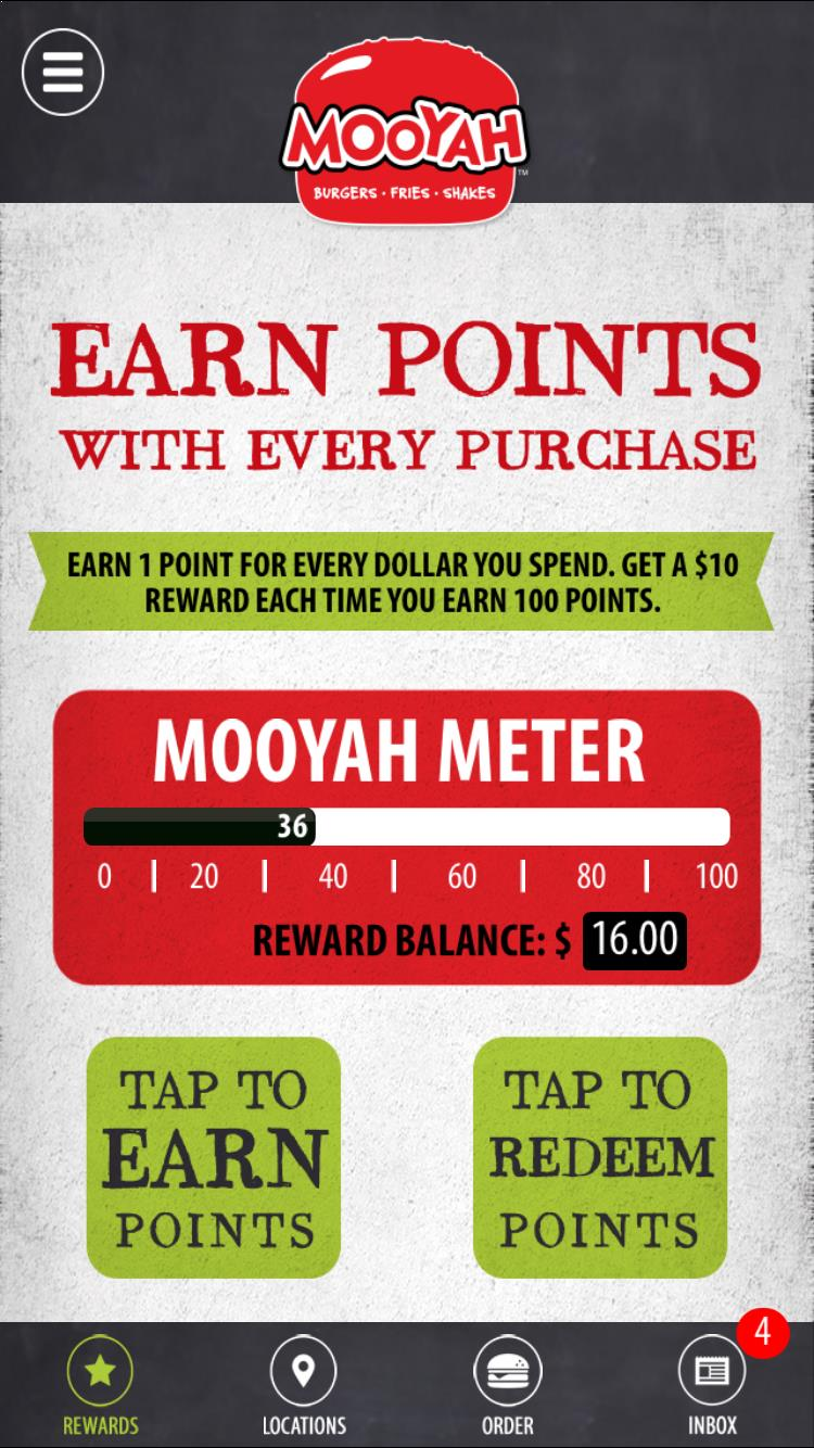 MOOYAH coupons on the Rewards App - MOOYAH Burgers, Fries