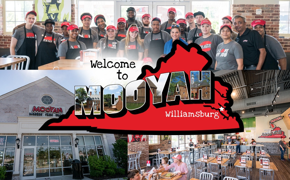 7852fba59 MOOYAH Brings Better Burgers to The 'Burg: New Location Opening in  Williamsburg July 3rd