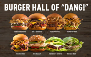 "The Burger Hall of ""Dang!"" is back."