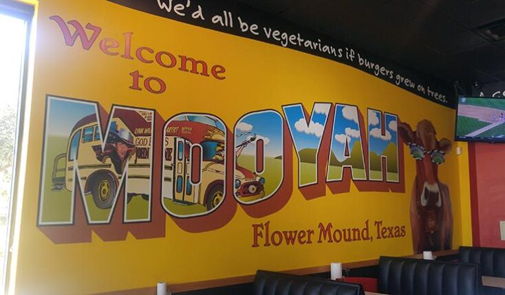 Flower Mound Texas - MOOYAH Burgers Fries and Shakes 2704 Cross Timbers Rd