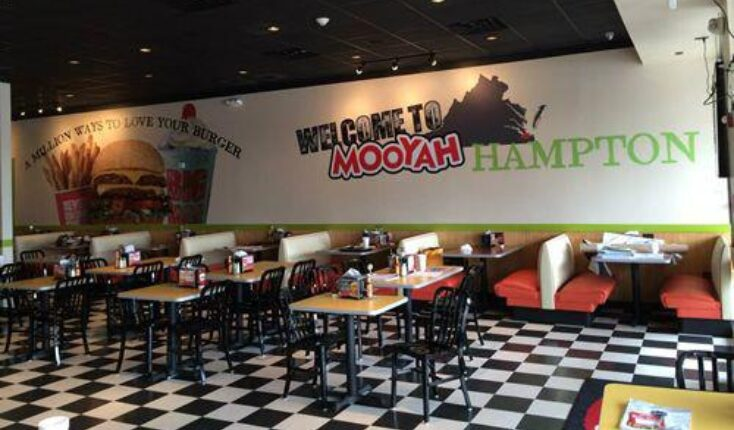 MOOYAH Burgers Fries Shakes in Hampton at Coliseum Crossing