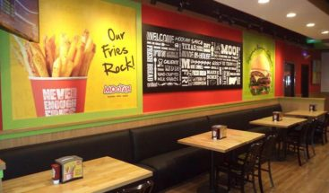 Mooyah Burgers Fries and Shakes restaurant located near Hammadi Hospital in Al-Nuzha Riyadh
