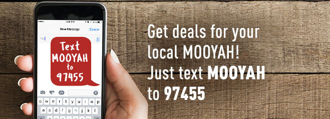 Mooyah Text Club Text Mooyah To 97455