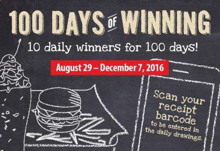 MOOYAH 100 Days Of Winning App Giveaways
