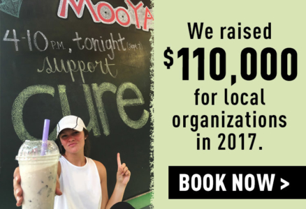 MOOYAH 2017 Fundraisers