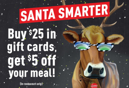 MOOYAH Holiday Gift Card Carousel Image